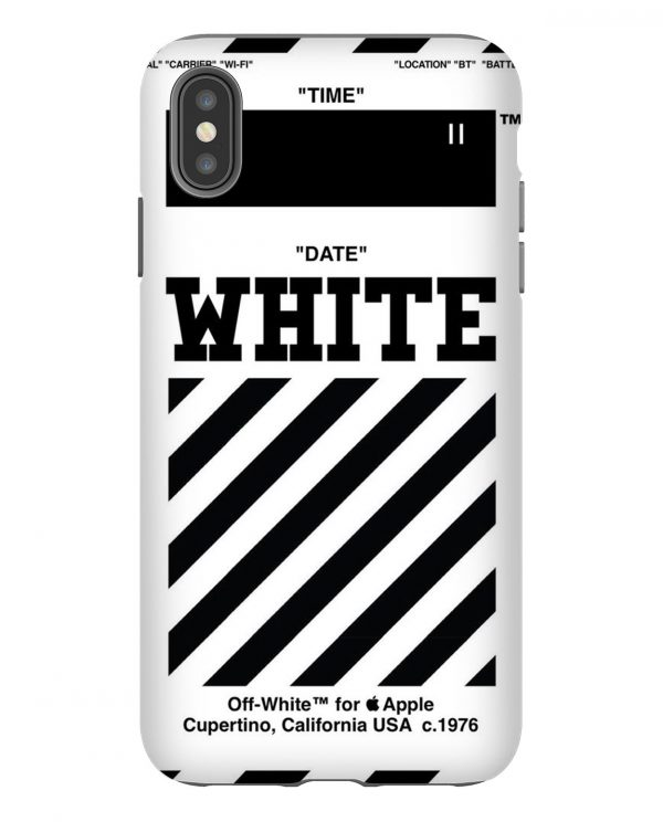 Off White Apple iPhone Case
