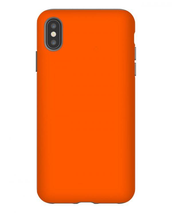 Orange Pantone Solid iPhone Case