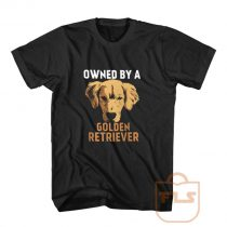 Owned by Golden Retriever T Shirt