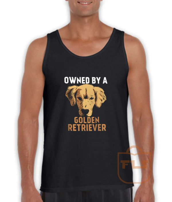Owned by Golden Retriever Tank Top