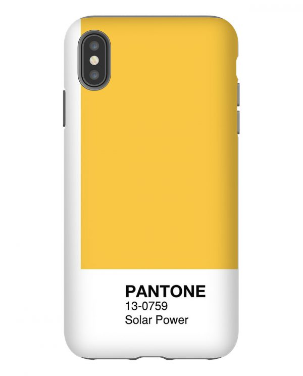 Pantone Solar Power iPhone Case