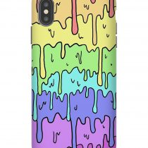 Pastel Kawaii Rainbow iPhone Case