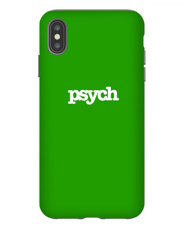 Psych Green iPhone Case