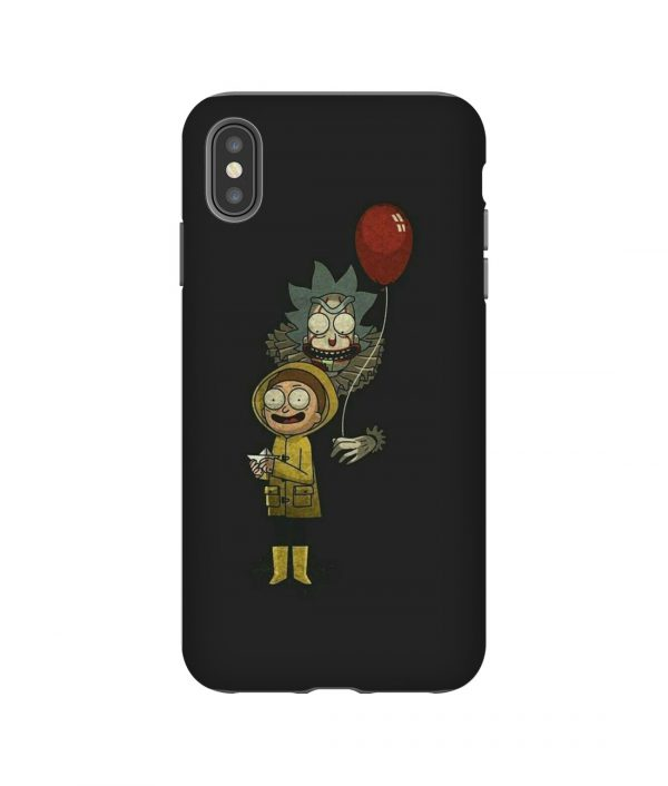 Rick Morty Halloween iPhone Case