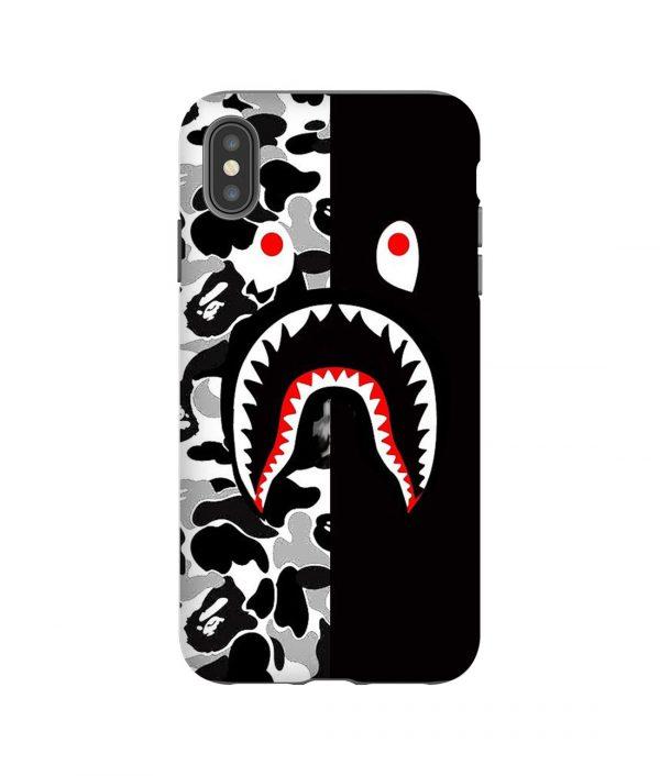 Shark Bape Camo Army iPhone Case