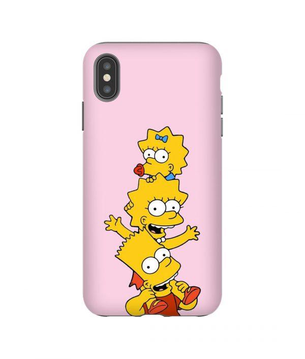 Simpson Siblings iPhone Case