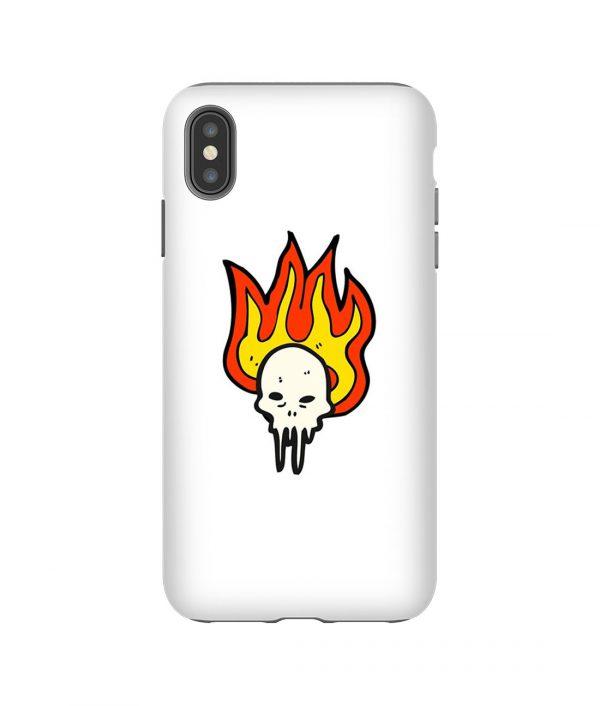 Sleepy Skeleton iPhone Case
