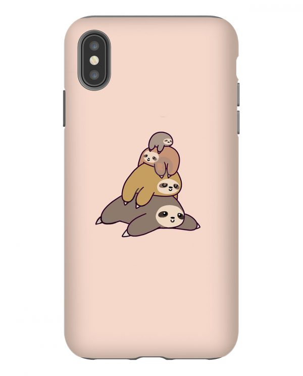 Sloth Stack iPhone Case