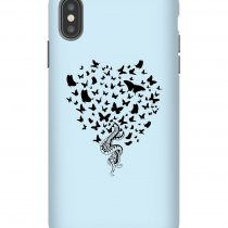 Snakes and Butterfly iPhone Case