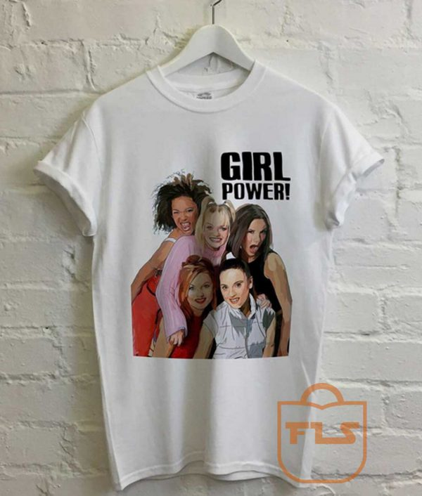 Spice Girls GirlPower Spaceworld Tour Vintage T Shirt