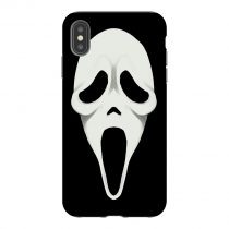 Spooky Horror Face iPhone Case