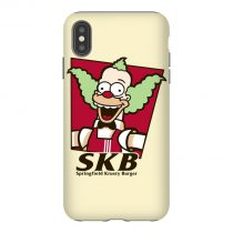Springfield Krusty Burger Parody iPhone Case