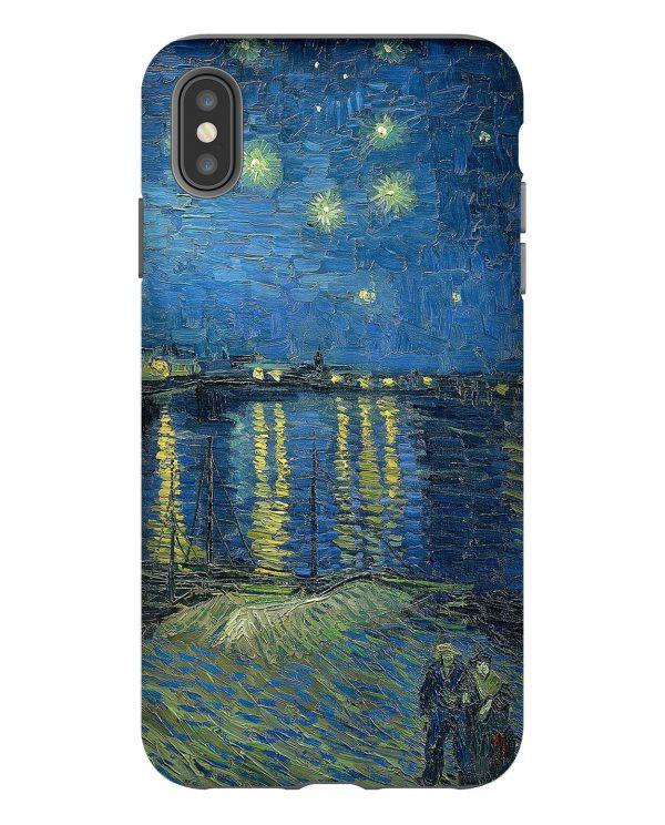 Starry Night over the Rhone Van Gogh iPhone Case