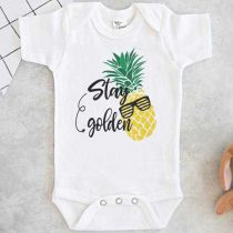 Stay Golden Pineapple Baby Onesie