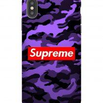 Supreme Bape Purple iPhone Case