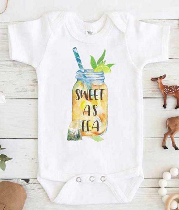 Sweet As Tea Baby Onesie