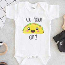 Taco Bout Cute Baby Onesie