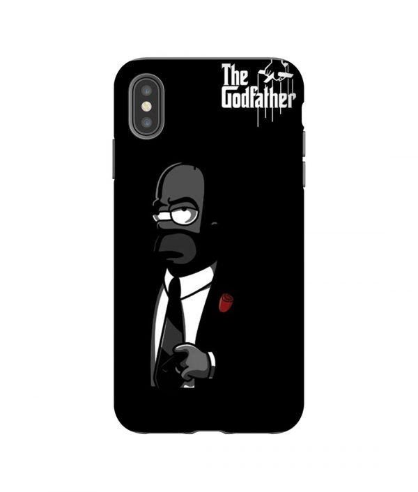 The Godfather Hommer Simpsons Parody iPhone Case