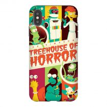 Treehouse Horror The Simpsons iPhone Case