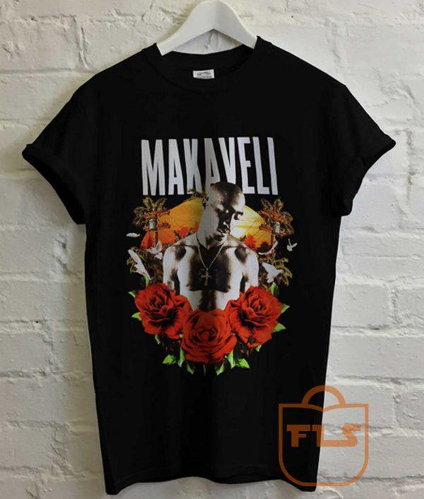 Tupac 2pac Makaveli Westcoast T Shirt