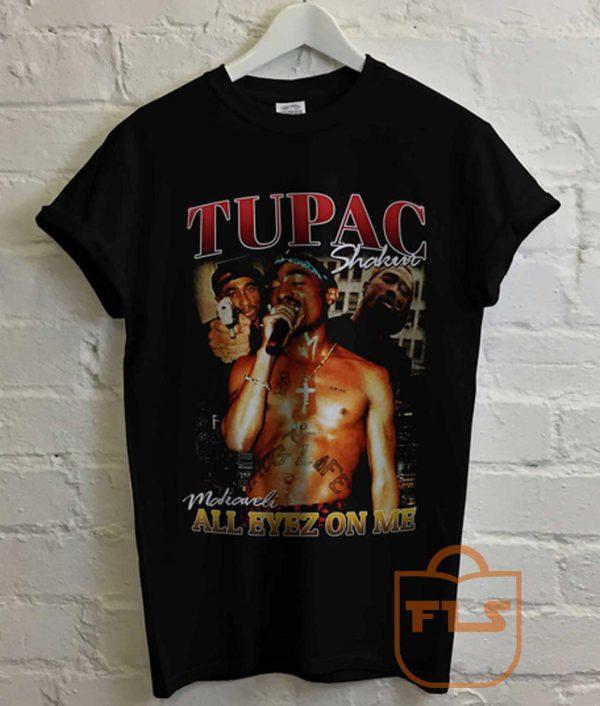 Tupac Shakur All Eyez On Me 2 Pac T Shirt
