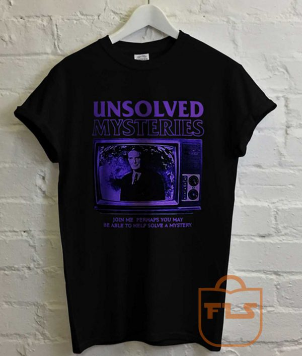 Unsolved Mysteries T Shirt