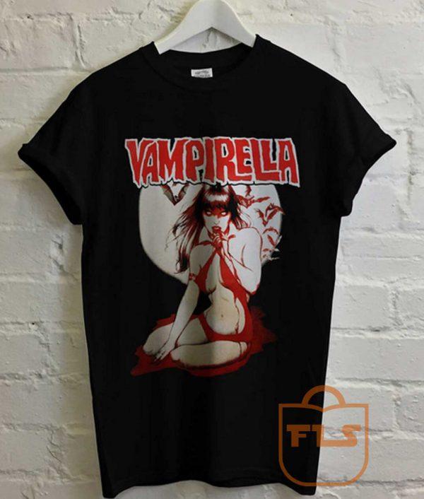 Vampirella Dracula Vampira Elvira T Shirt