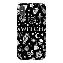 Witch Black Pattern iPhone Case