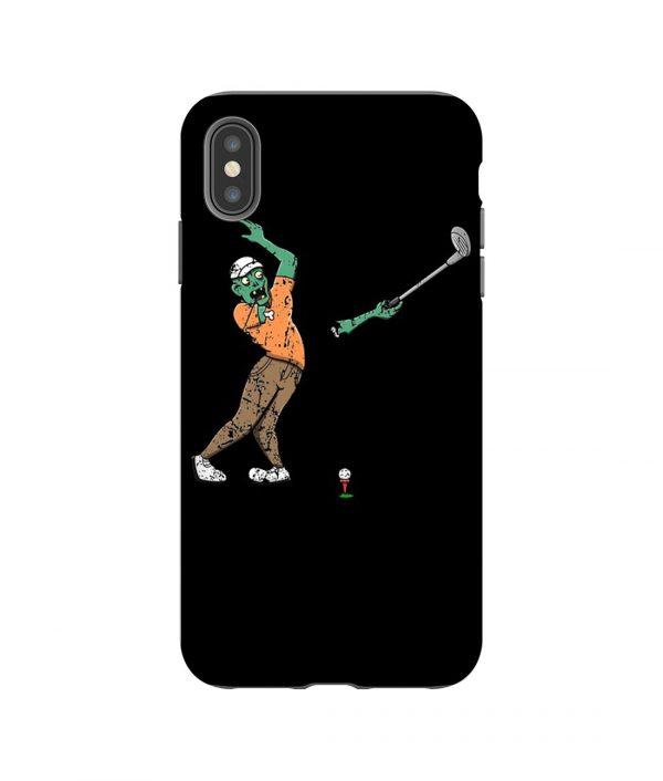 Zombie Golf iPhone Case