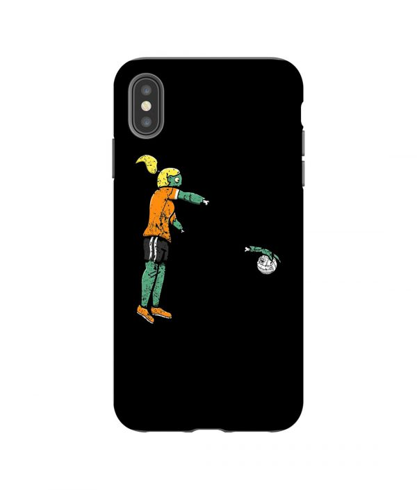 Zombie Volleyball iPhone Case