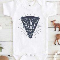 slice slice baby Baby Onesie