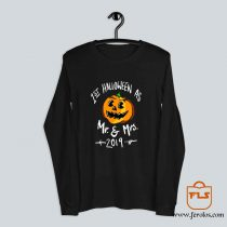 1st Halloween Mr Mrs 2019 Long Sleeve