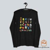 ABC Cartoon Nerd Long Sleeve