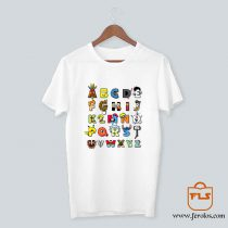 ABC Cartoon Nerd T Shirt