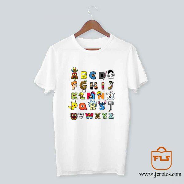 ABC Cartoon Nerd T Shirt