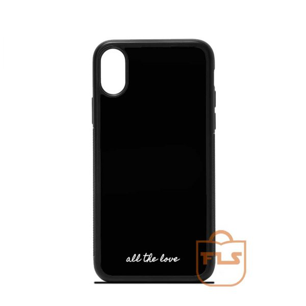 All The Love One Direction iPhone Case
