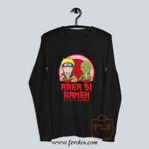 Area 51 Ramen Naruto Parody Long-Sleeve