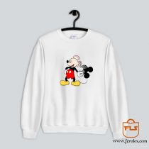 Bald Mickey Mouse Sweatshirt