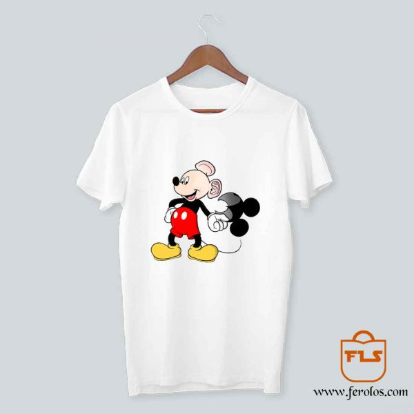 Bald Mickey Mouse T Shirt
