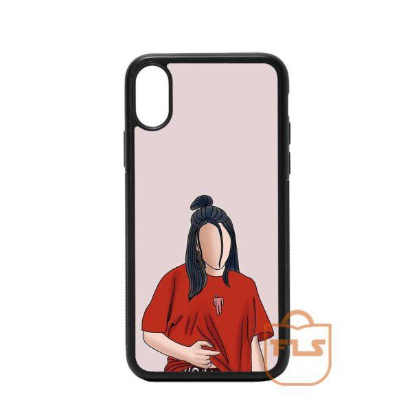 Billie Eillishoutline iPhone Case
