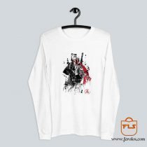 Bounty Hunter sumi e Long Sleeve