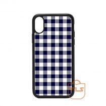 Buffalo Navy Blue White Plaid iPhone Case