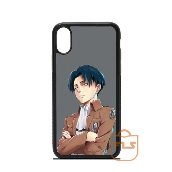 Captain Levi Ackerman iPhone Case