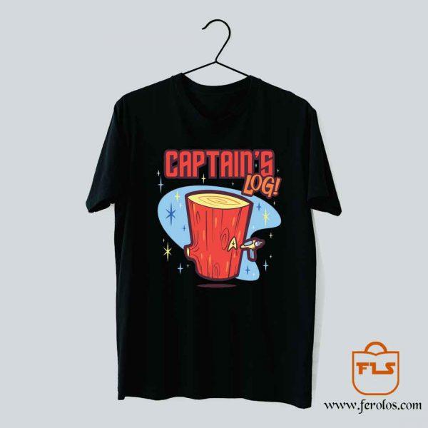Captains Log T Shirt