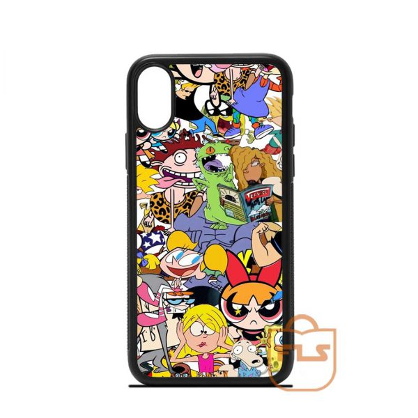 Cartoon Network Collage iPhone Case