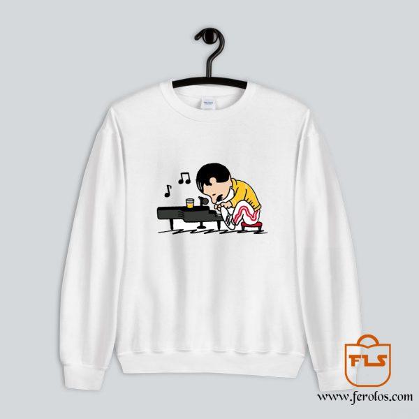 Charlie Brown Bohemian Rapsody Sweatshirt