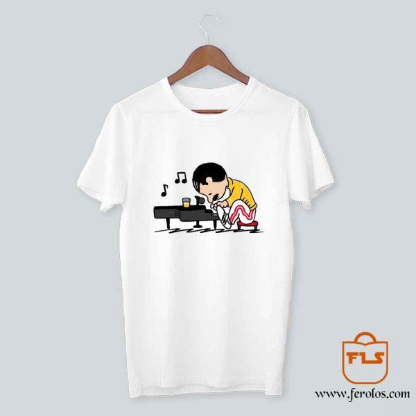 Charlie Brown Bohemian Rapsody T Shirt