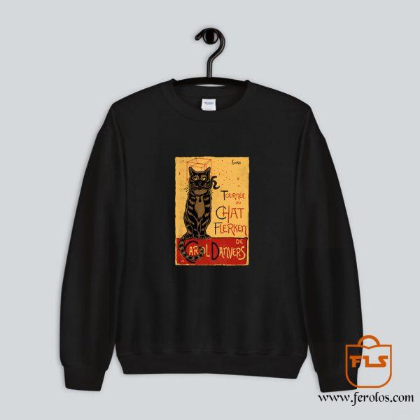 Chat Flerken Sweatshirt