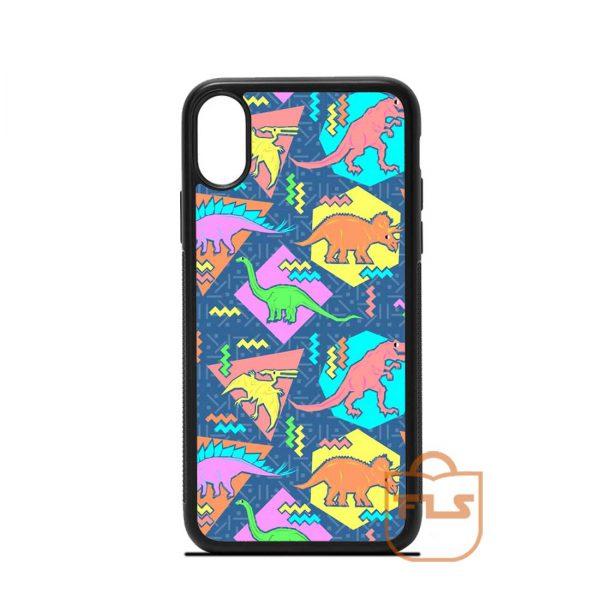 Dinosaurs Pattern iPhone Case