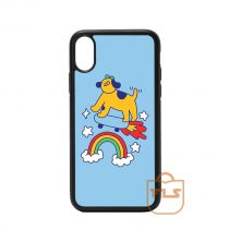 Dog Skateboard iPhone Case